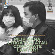 Enak Mana Pengacara Litigasi atau Perusahaan? | Ft. Arjana Bagaskara