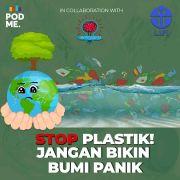 Stop Plastik! Jangan Bikin Bumi Panik | Ft. M. Reza Cordova