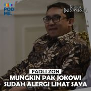 Fadli Zon (Part 3) | Mungkin Pak Jokowi sudah Alergi Lihat Saya